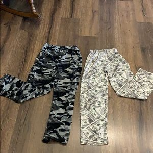 Pair of boys pajama pants